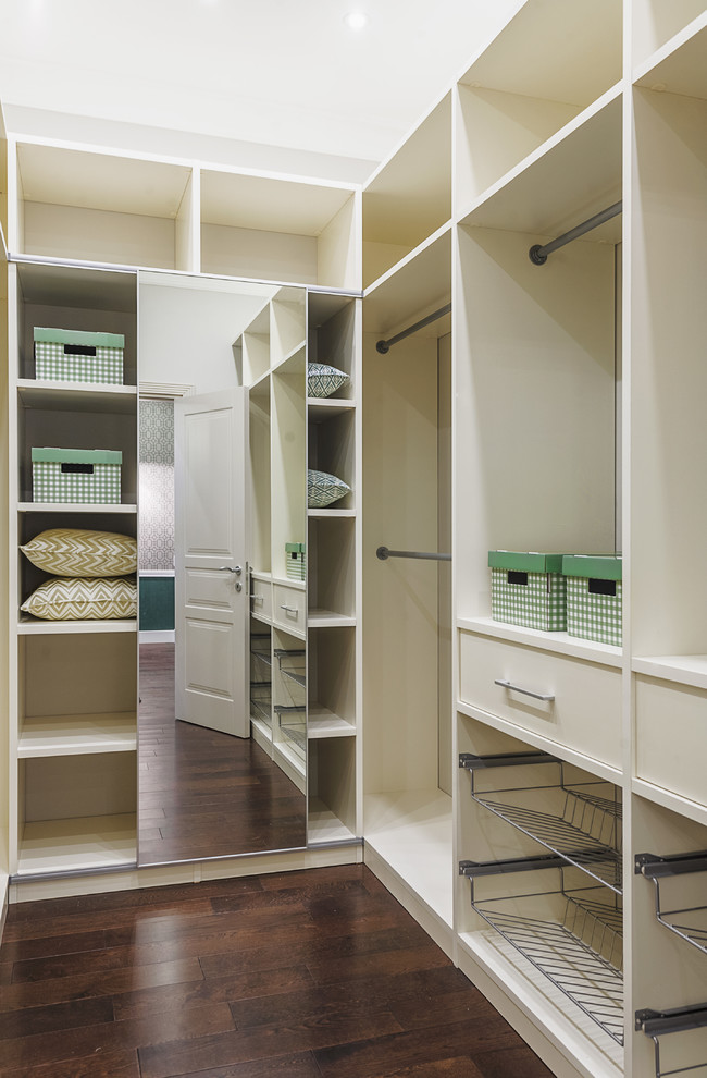 6 Wardrobe with Full Length Mirror Doors via simphome