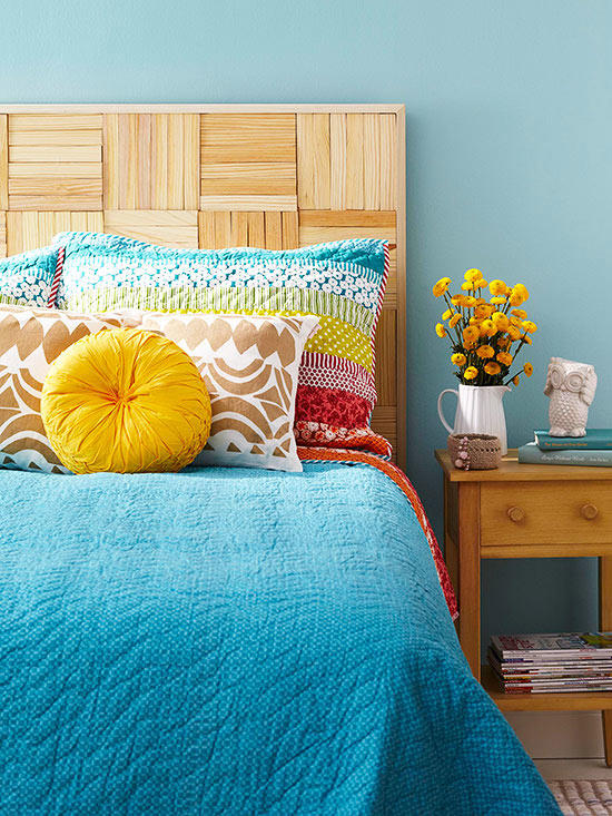 6 DIY headboard idea via simphome