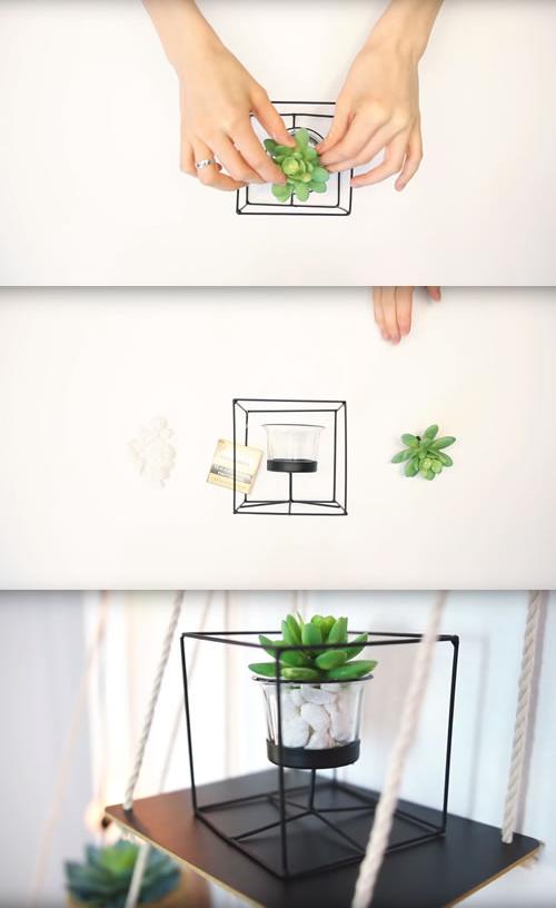 67 DIY DOLLAR STORE CRAFTS Succulent plant via simphome