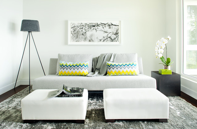 9 Ditch the Coffee Table via simphome