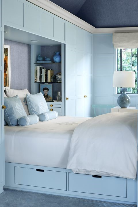 9 Paint Your Bedroom One Hue via simphome