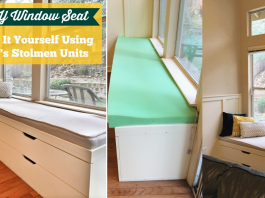 A WINDOW SEAT MADE FROM IKEA STOLMEN via Simphome 1 featured
