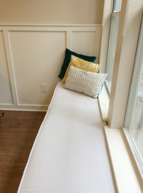 A WINDOW SEAT MADE FROM IKEA STOLMEN via Simphome Process 10