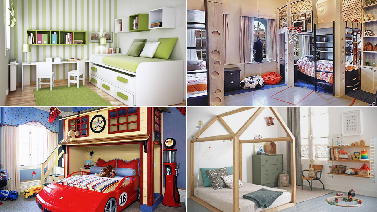 Bedroom design ideas for kids by simphome featured