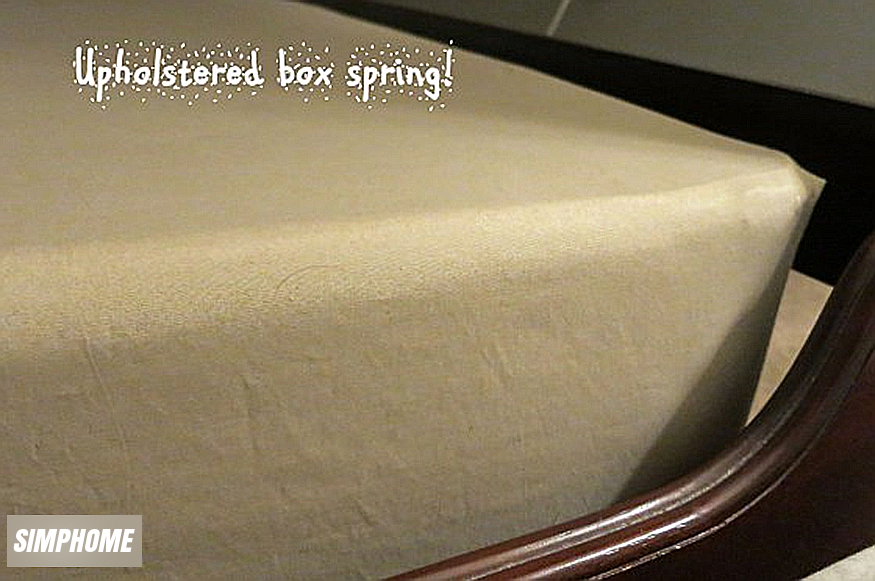 DIY box spring covers via simphome 6