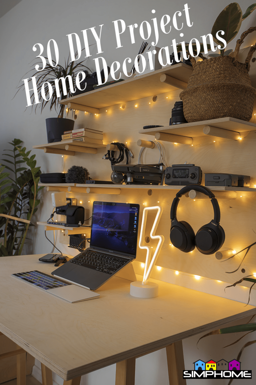 DIY project home decor via Simphome.com