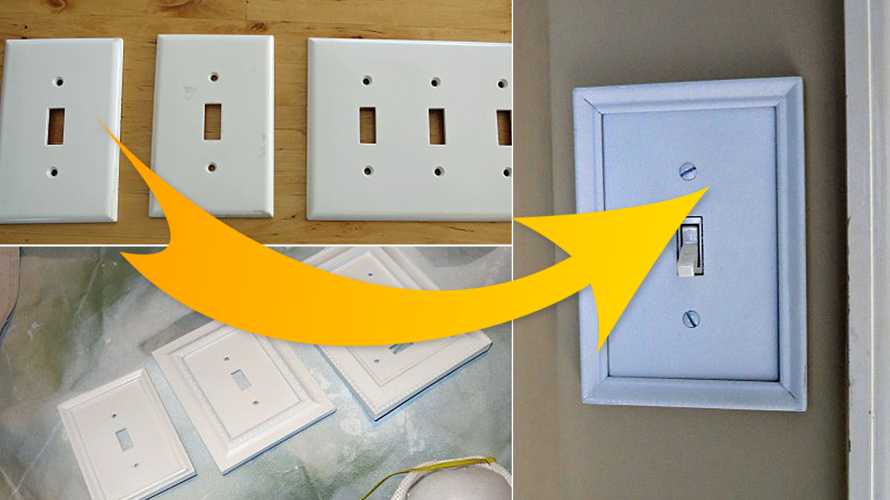 DIY switch plate upgrade Simphome com How to do it like a pro Featured