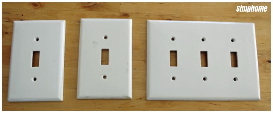 DIY switch plate upgrade via simphome 1