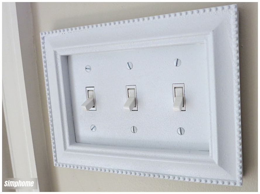 DIY switch plate upgrade via simphome 5