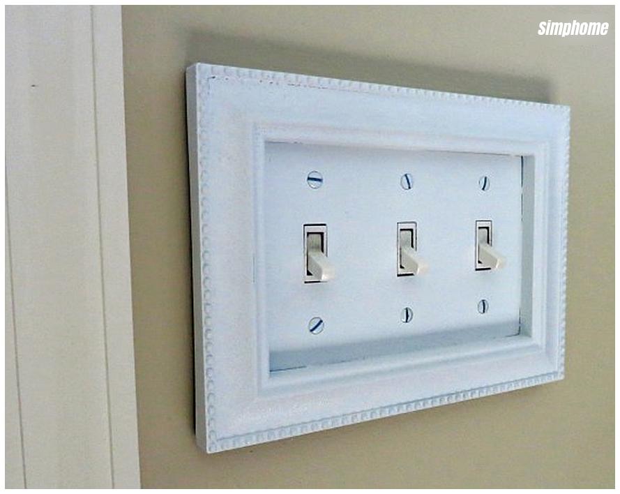 DIY switch plate upgrade via simphome 6