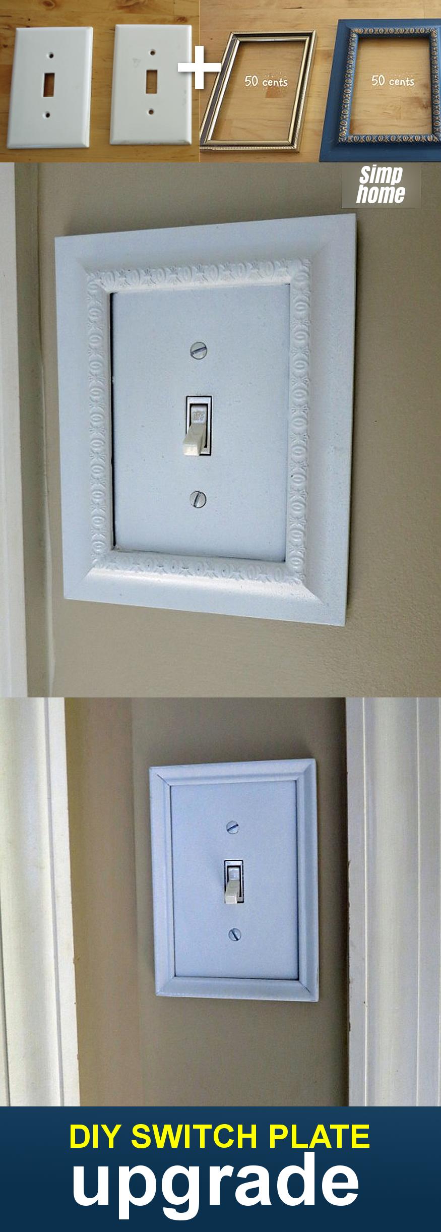 DIY switch plate upgrade via simphome com Finished