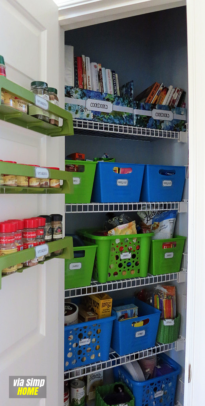 Effective Pantry Organizing ideas revealed Simphome com AFTER