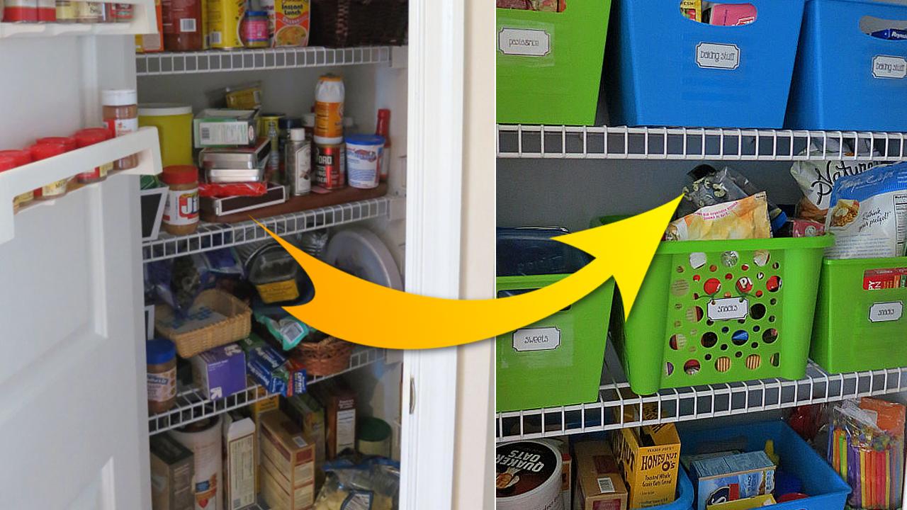 Effective Pantry Organizing revealed via simphome com featured