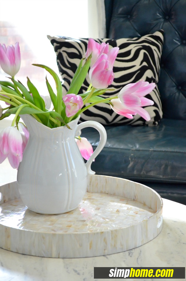 How to turn Ugly Coffee Table to Marble like coffee table via simphome 1