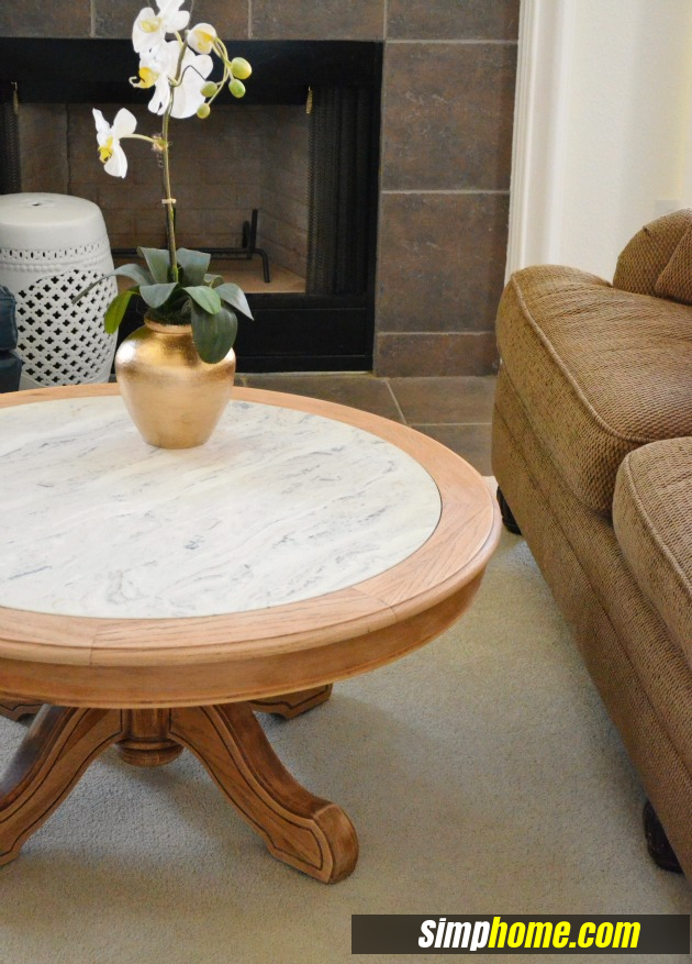 How to turn Ugly Coffee Table to Marble like coffee table via simphome 3