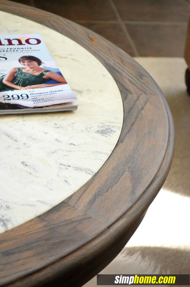 How to turn Ugly Coffee Table to Marble like coffee table via simphome 4