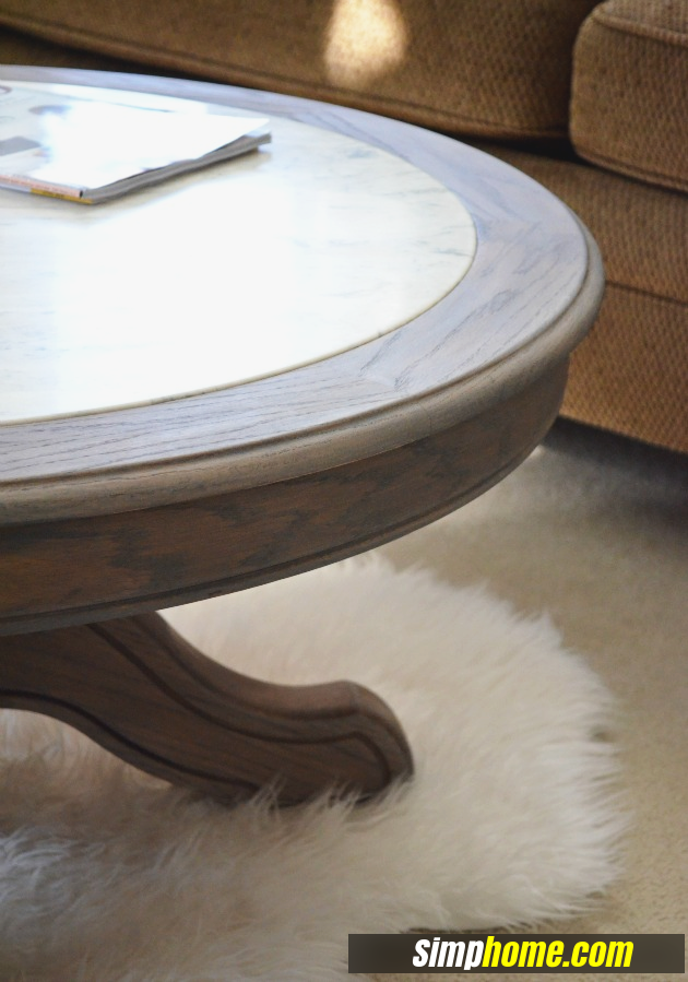 How to turn Ugly Coffee Table to Marble like coffee table via simphome 5