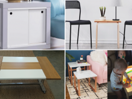 IKEA Table makeovers video via simphome Feature