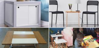 IKEA Table makeovers video via simphome Feature