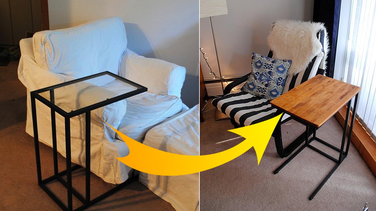 Simple idea how to Hack Ikea Vittsjo Laptop Stand via simphome featured