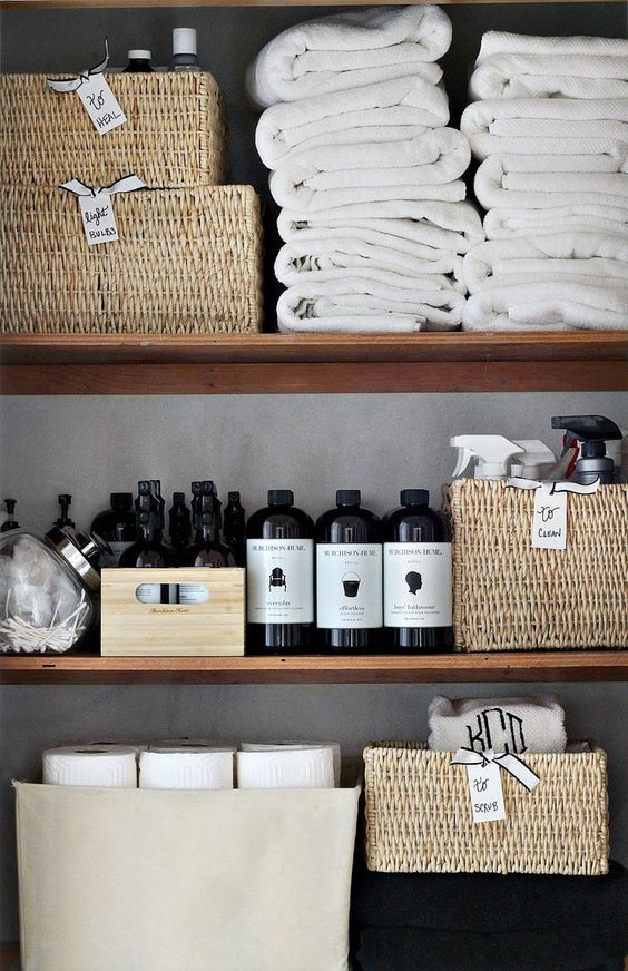 This is 5 Steps to get Perfect Linen Closets via simphome 4