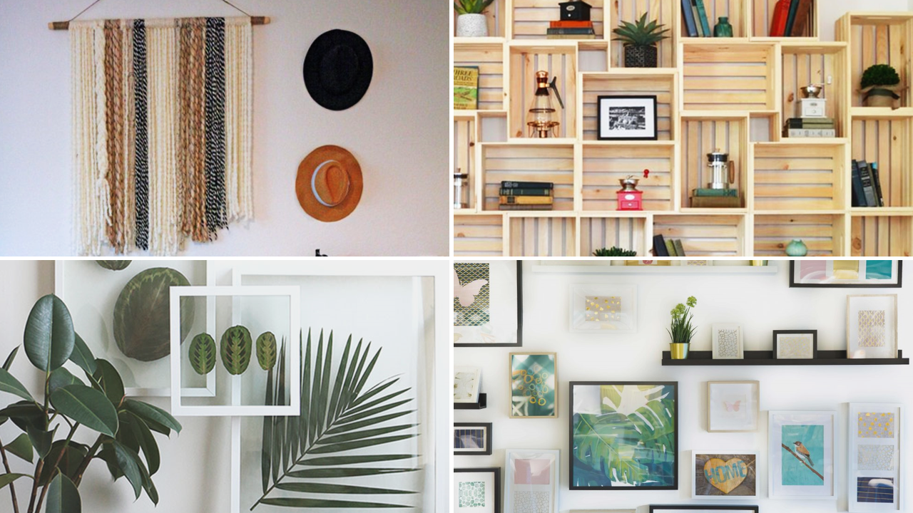 Wall decor for boring walls by simphome featured