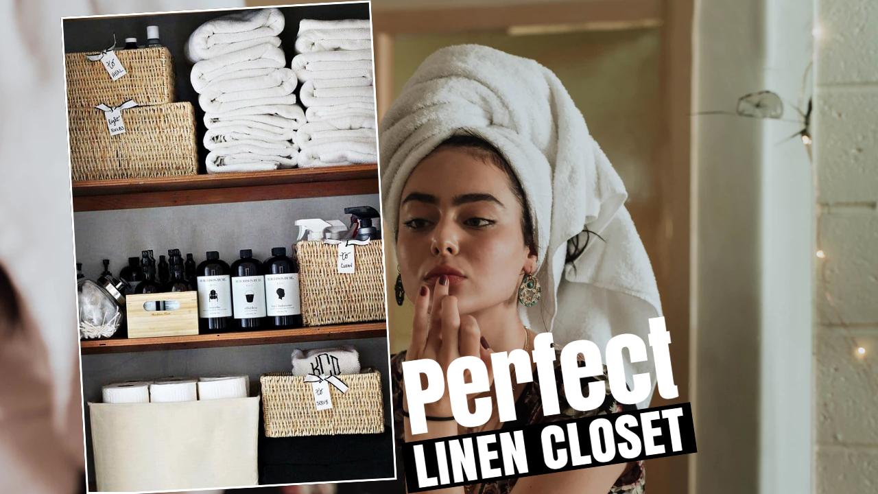 how to make linen closet via simphome