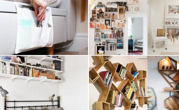 10 Cheap Bedroom Storage Ideas via simphome featured