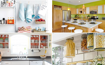10 DIY Modern Kitchen Cabinet Ideas and Storage via Simphome featured