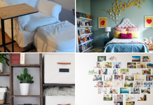 10 DIY Small Bedroom Decorating Ideas via simphome featured 1