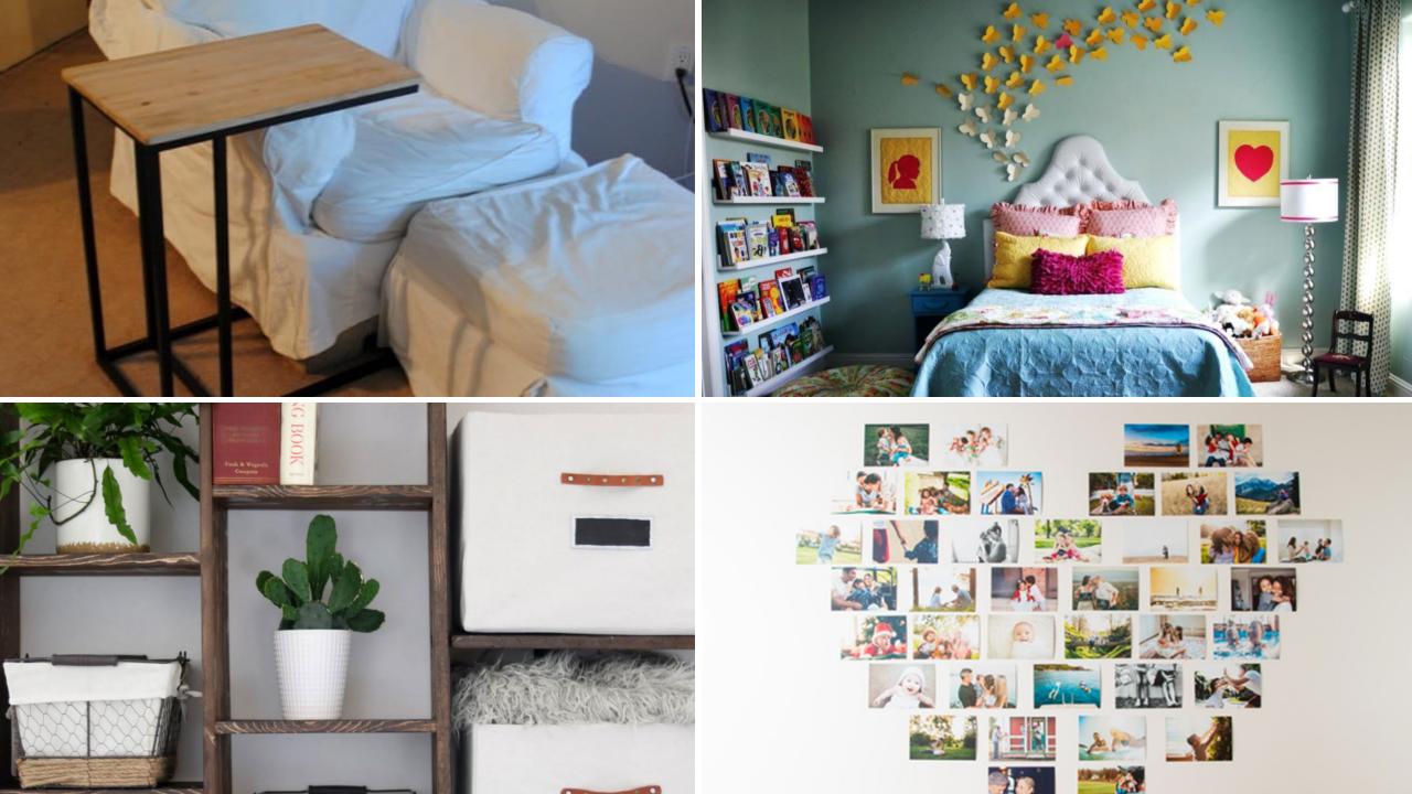 10 DIY Small Bedroom Decorating Ideas via simphome featured 1
