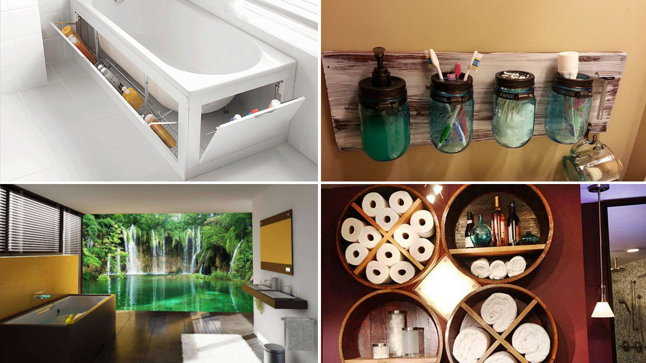 10 Modern Bathrooms and DIY Improvement Ideas via simphome featured