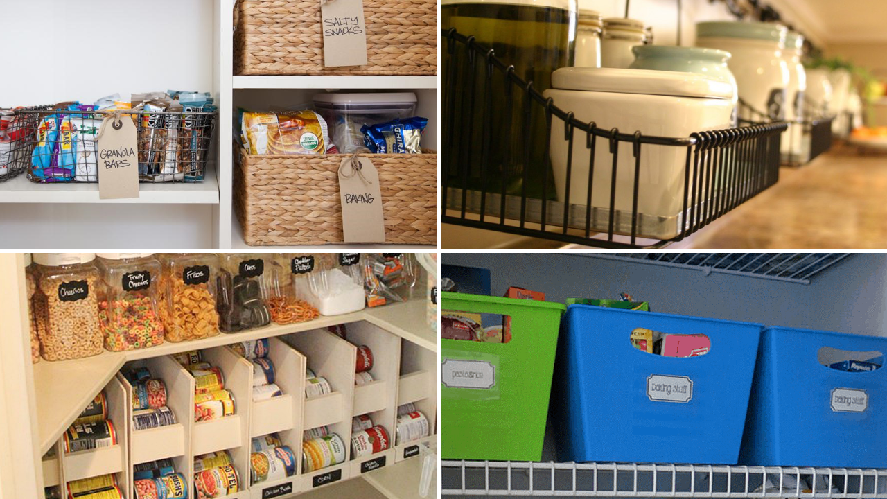 10 Pantry Storage and Organization Ideas via simphome featured