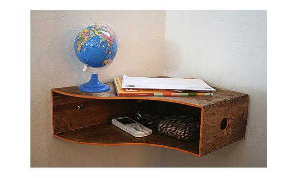 10 Turn Your File Holder into a Corner Table via simphome com