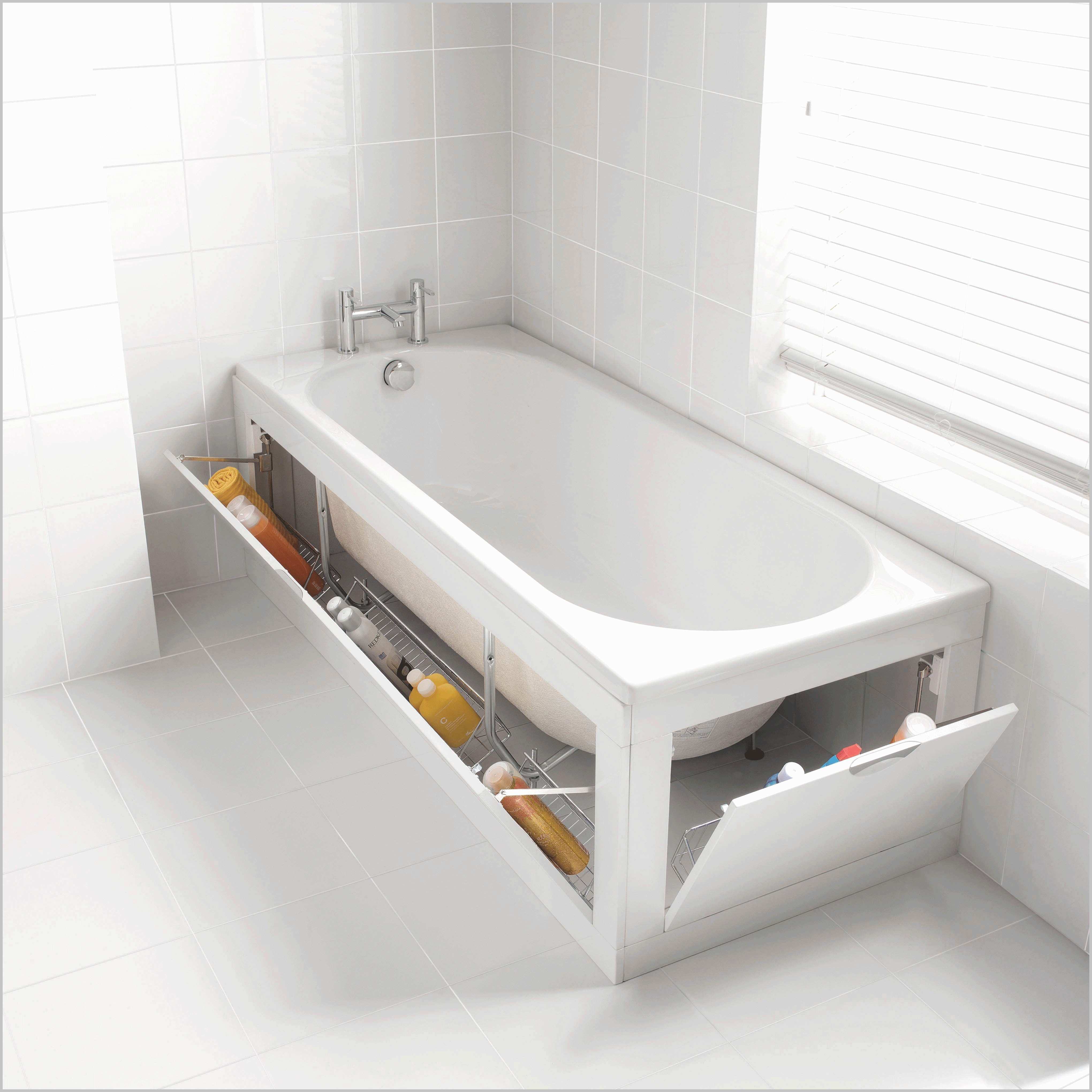 6 Bathtub Storage via simphome