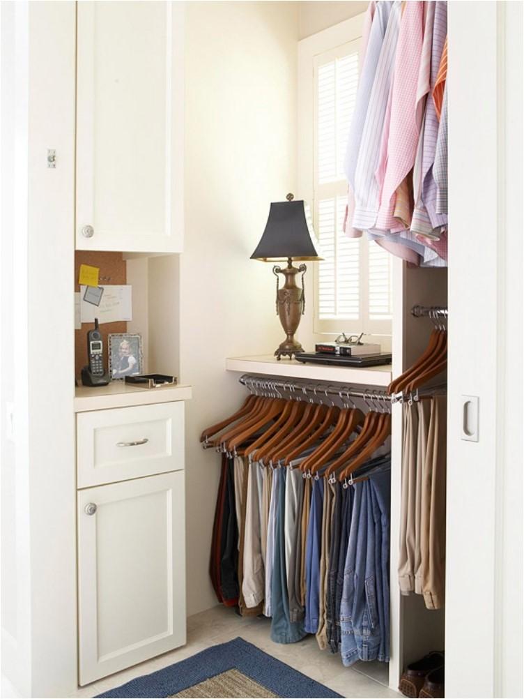 6 Corner Closet without Doors via simphome