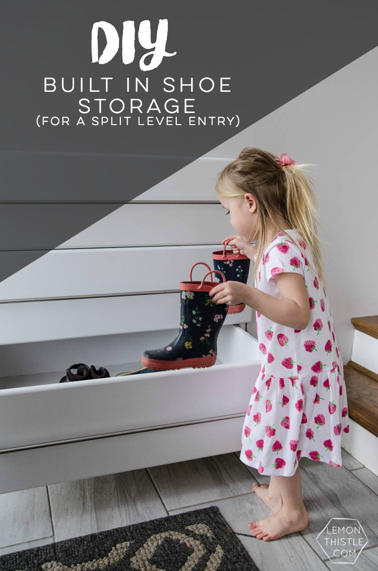 7 Built In Shoe Storage via simphome