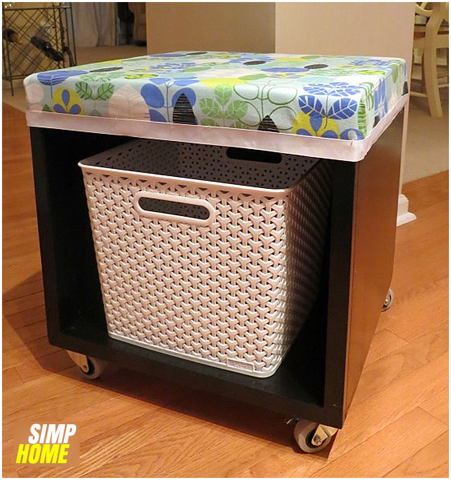 8 Multipurpose Storage Cube via simphome