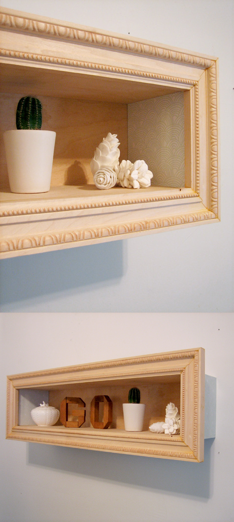 Additional 2 framed display box via simphome com