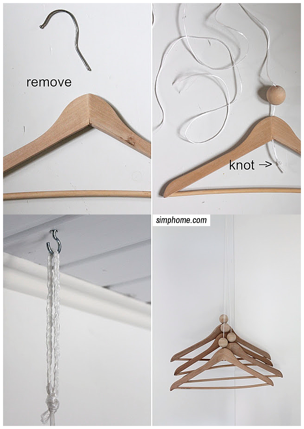 DIY Coat rack via simphome 2