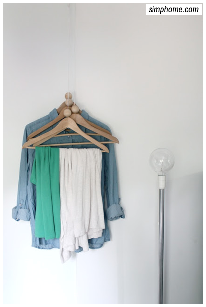 DIY Coat rack via simphome 3