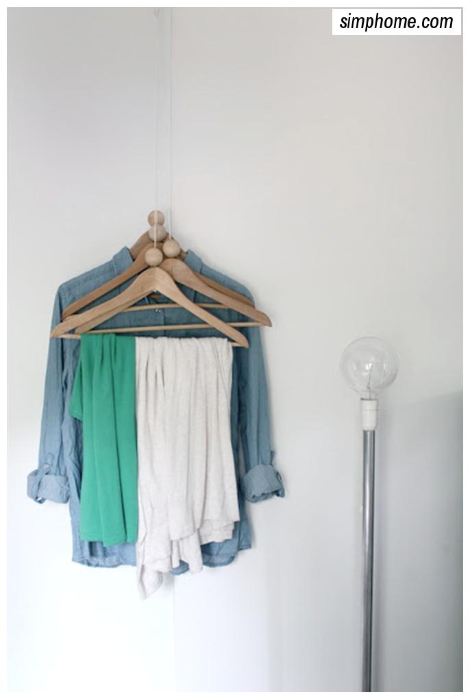 DIY Coat rack via simphome 3