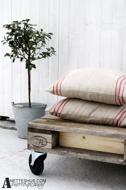 DIY How to make indoor pallet sofa and outdoor via simphome 5
