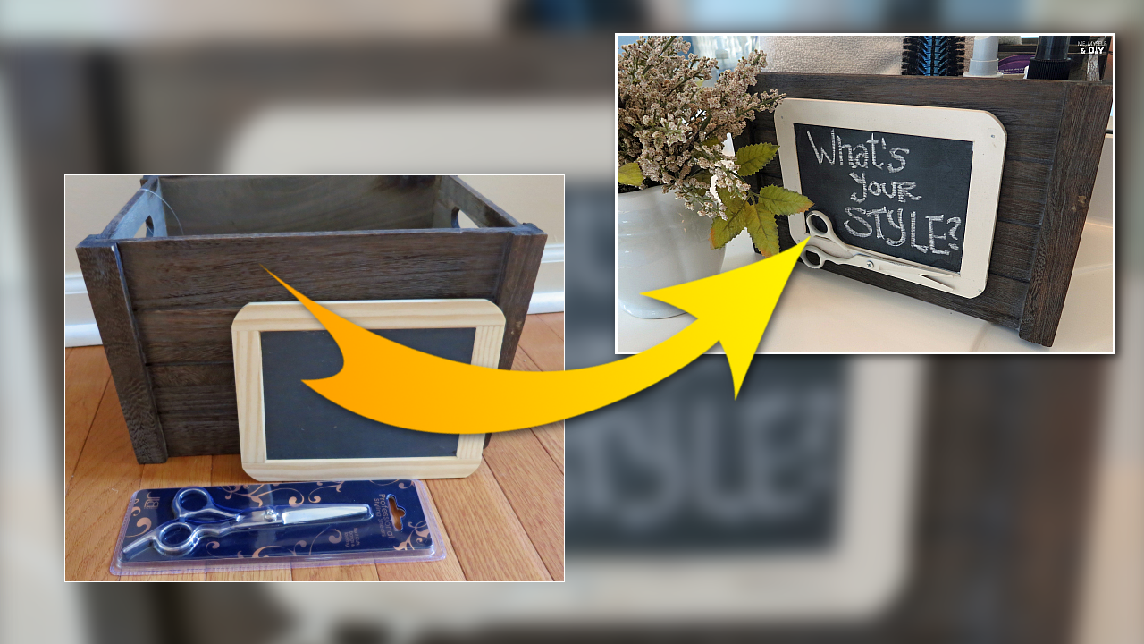 DIY Project How to makeover A Craft store bin featured Simphome com