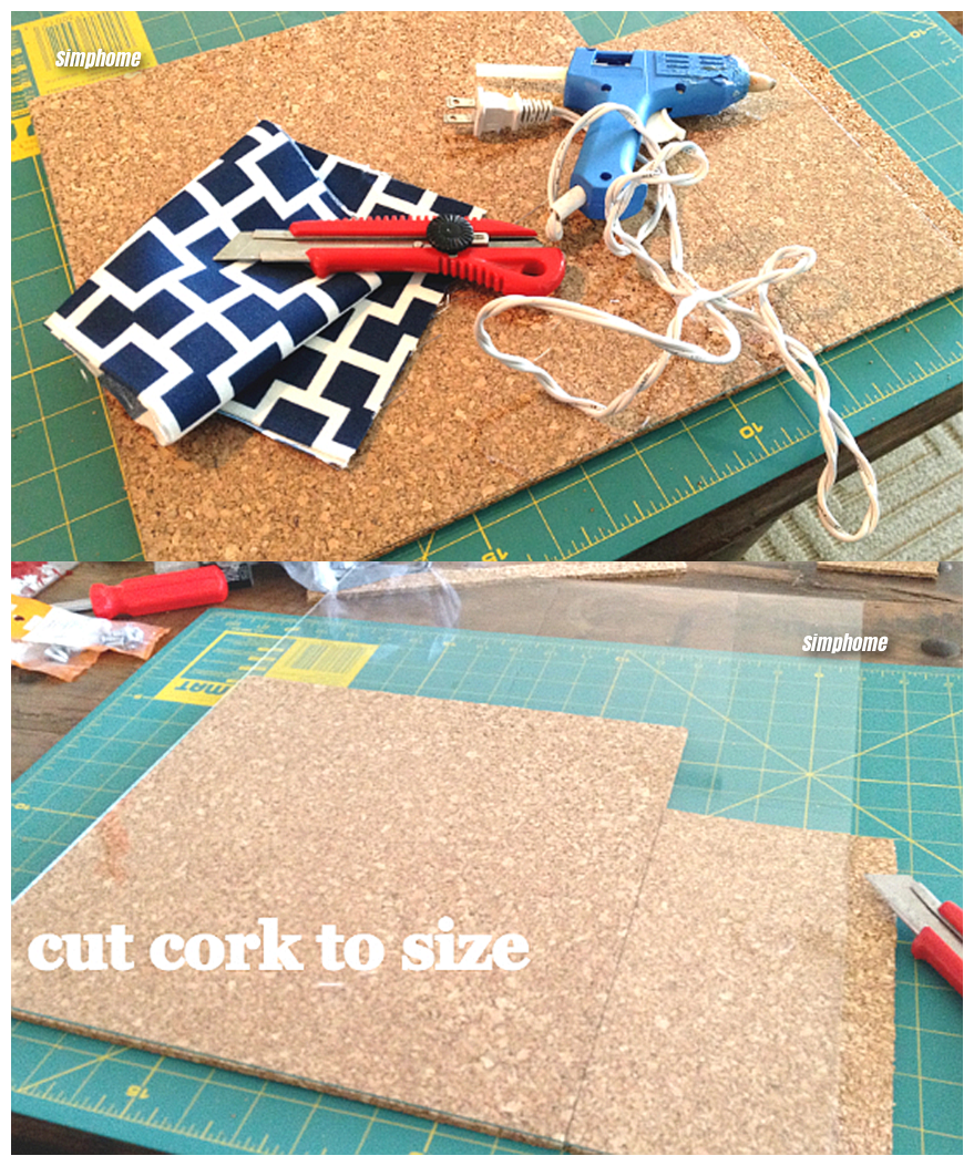 How to Build a DIY corkboard planter via simphome 2 3