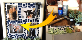 How to Build a DIY corkboard planter via simphome featured