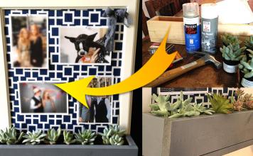 How to Build a DIY corkboard planter via simphome featured