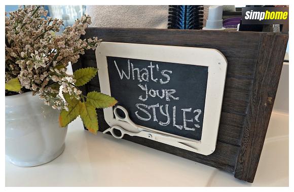 How to makeover A Craft store bin via simphome com Final
