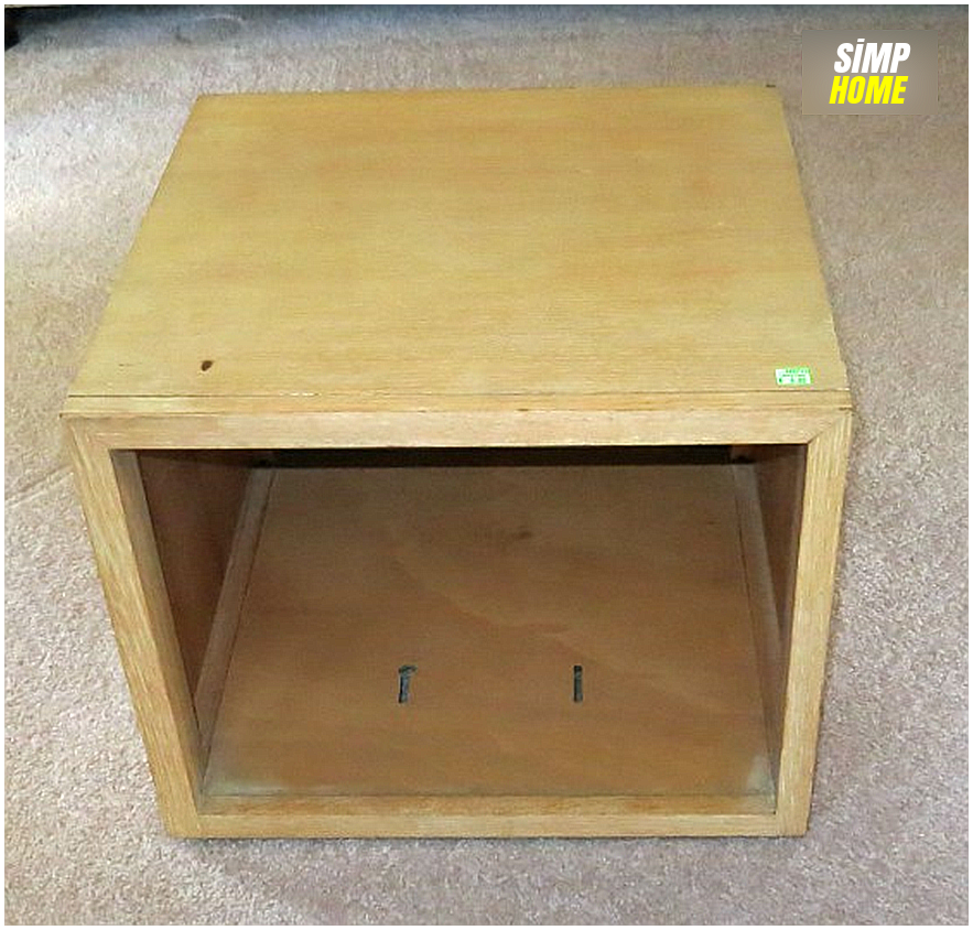 Thrift Shop Storage Cube Transformation idea via simphome 1