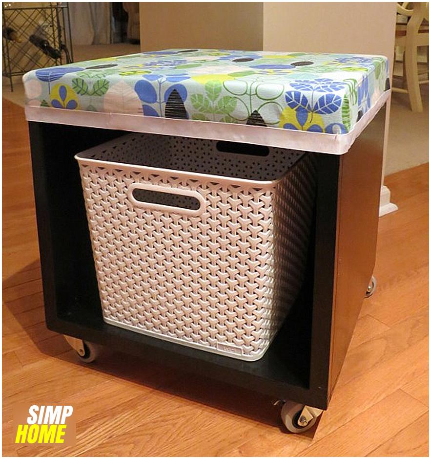 Thrift Shop Storage Cube Transformation idea via simphome 8